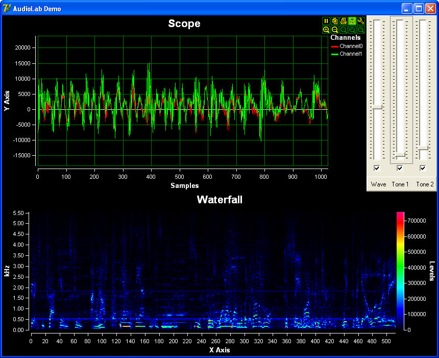 AudioLab VC++ Screen shot