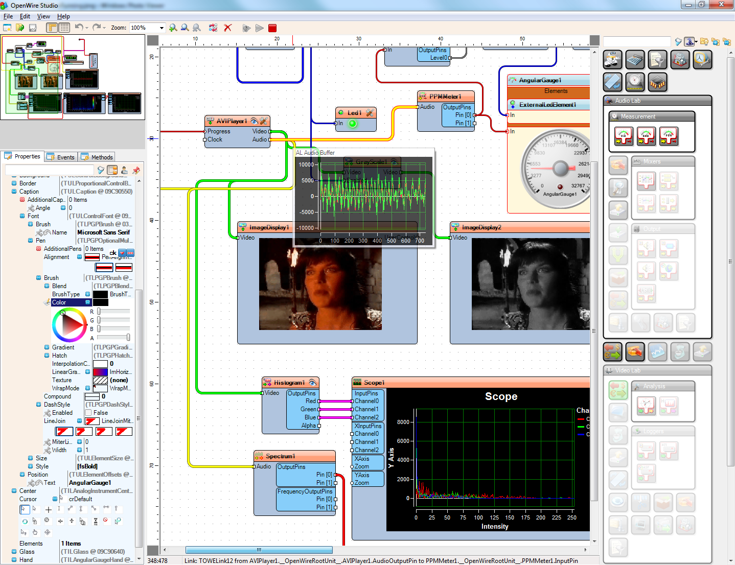 Click to view OpenWire Studio Beta1 screenshot