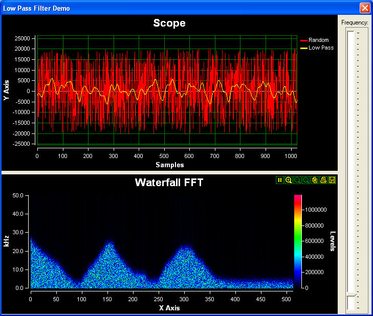 SignalLab VCL Screen shot