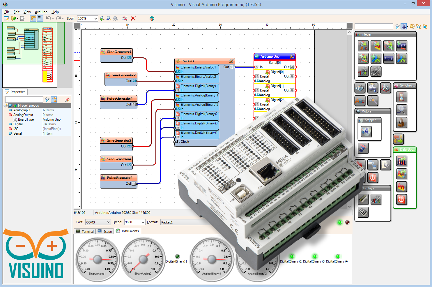 New Visual Arduino programming tool - Page 3