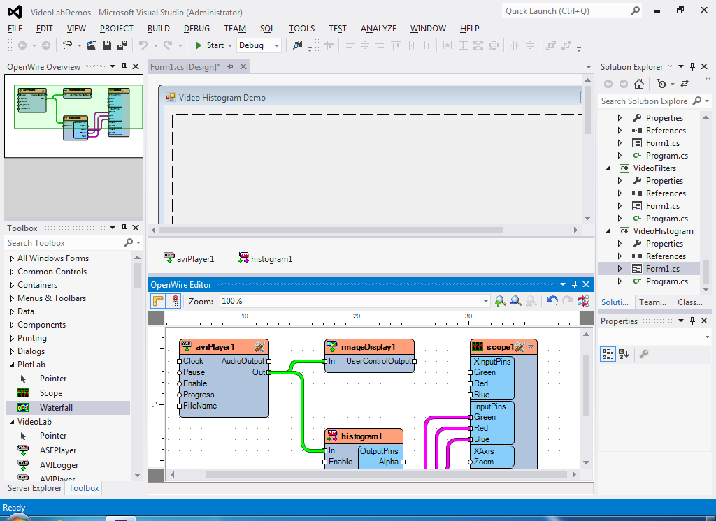 OW Editor for Visual Studio 2012